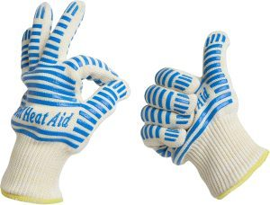 Grill Heat Aid Extreme Heat Protection Gloves