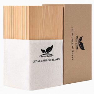 Nature Carrier Premium Cedar Grilling Planks