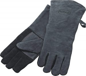 Rosle 16-inch Leather Barbeque Grilling Gloves