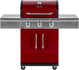 Dyna-Glo DGG424RNP-D 3 Red LP Gas Grill