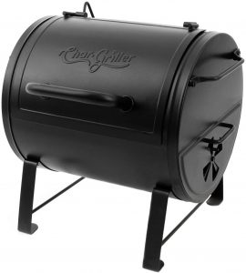 Char-Griller Side Fire Box Charcoal Grill