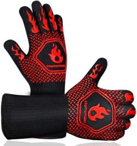 Homemaxs Synthetic BBQ Gloves