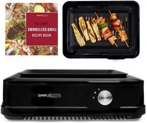 Simple Living Indoor Smokeless Infrared Grill