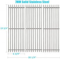 BBQration 3-Pack SS6505A Cooking Grates