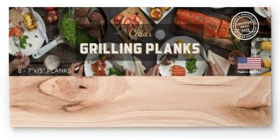 Oregon Cedar Western Red Cedar Grilling Planks
