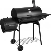 Royal Gourmet BBQ Charcoal Grill and Offset Smoker