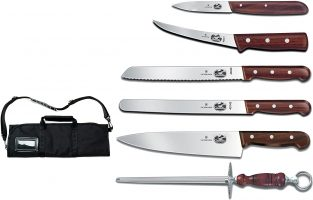 Victorinox Swiss Army Cutlery Rosewood Knife Set